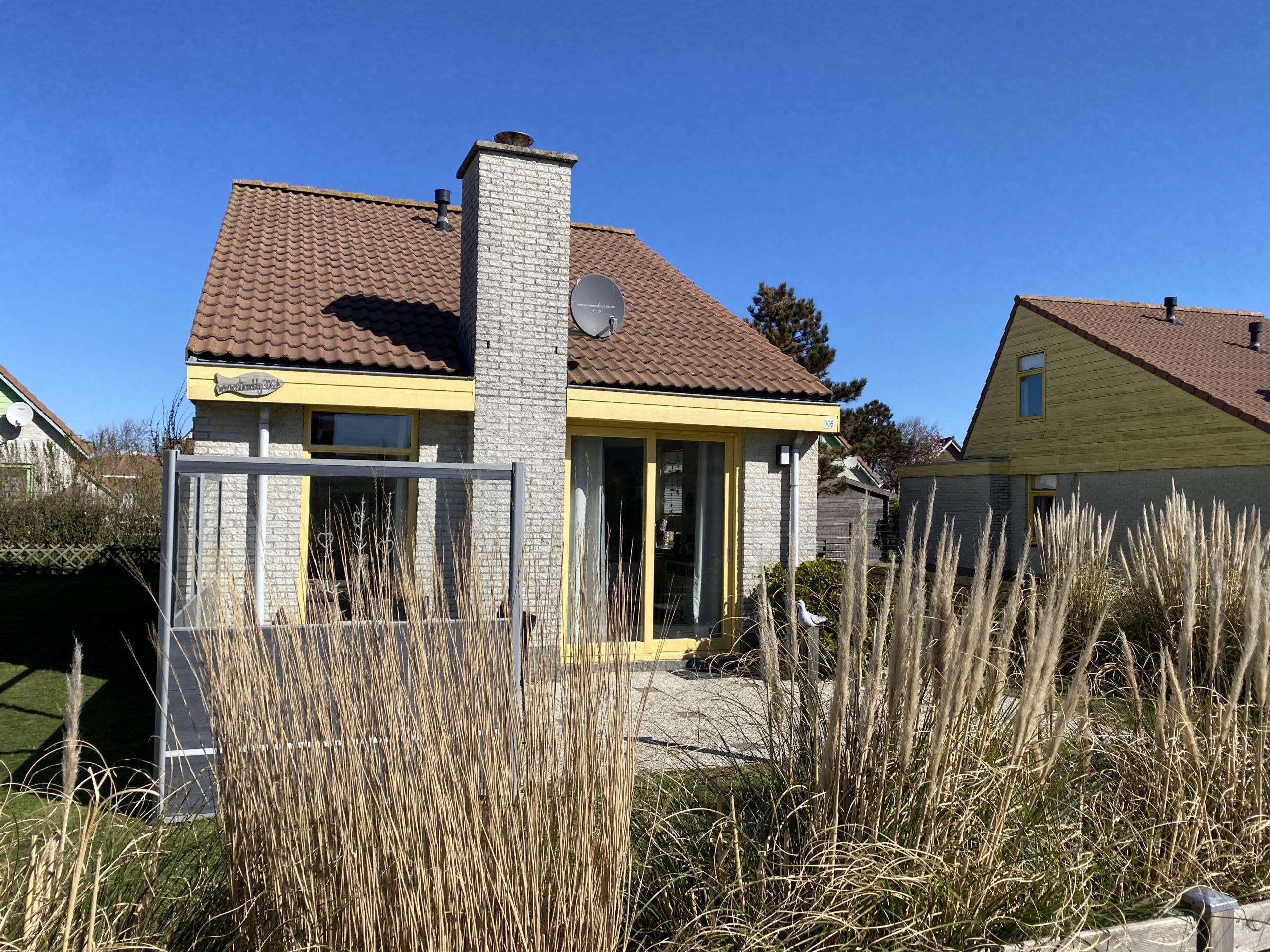 Terrasse Ferienhaus Strandslag306
